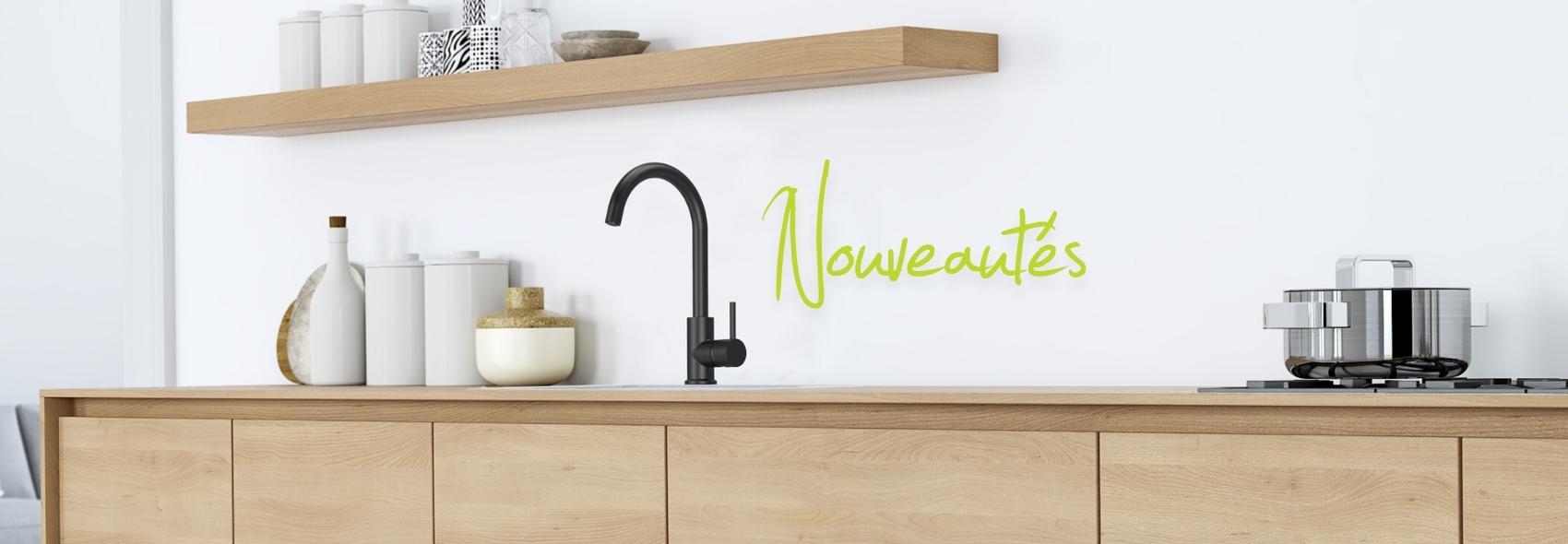 Nouveautés cuisine et salle de bain