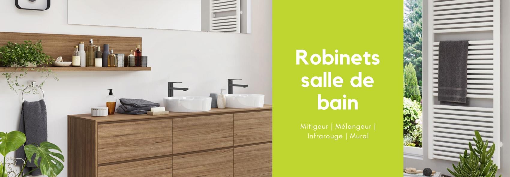 Robinets salle de bain