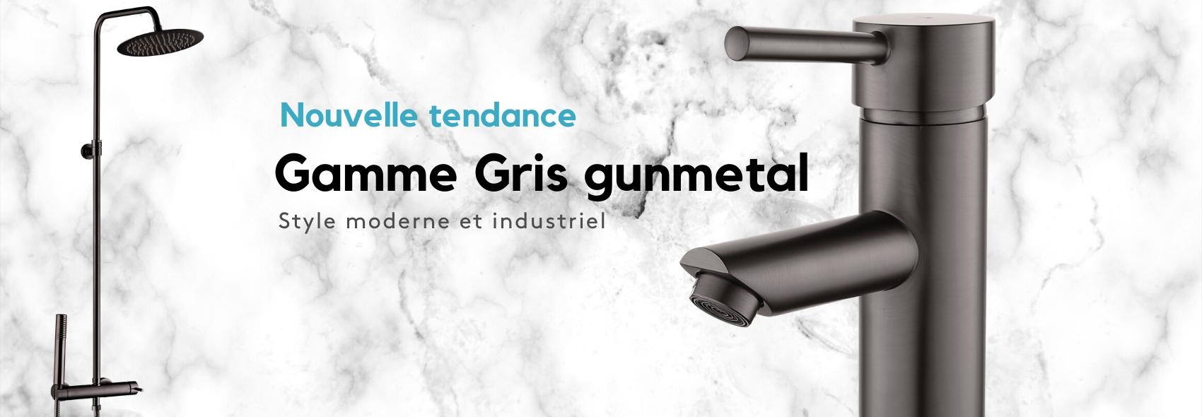 Univers gris gun métal