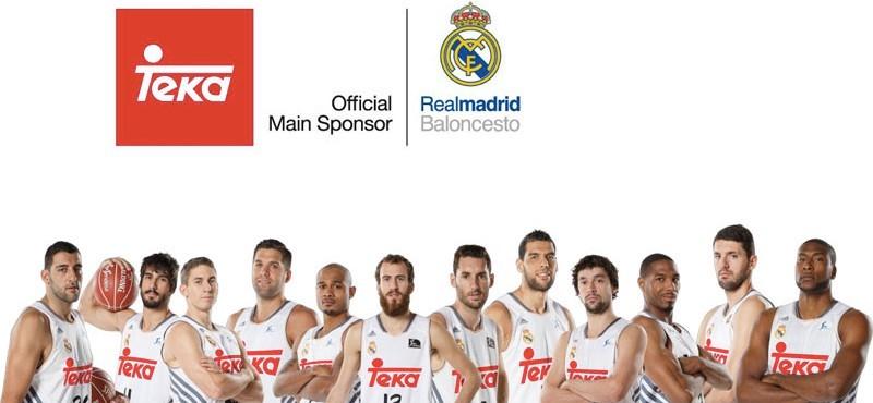 Teka sponsor Real Madrid