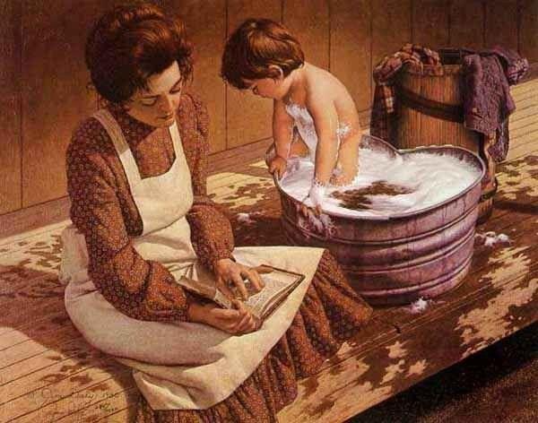 Baquet pour se laver