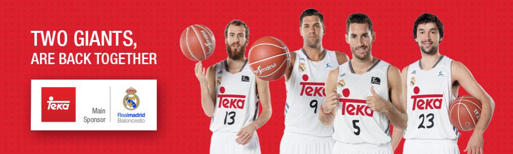 Teka sponsor à Madrid