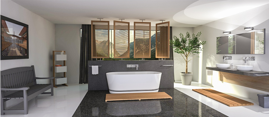 Salle de bain famille
