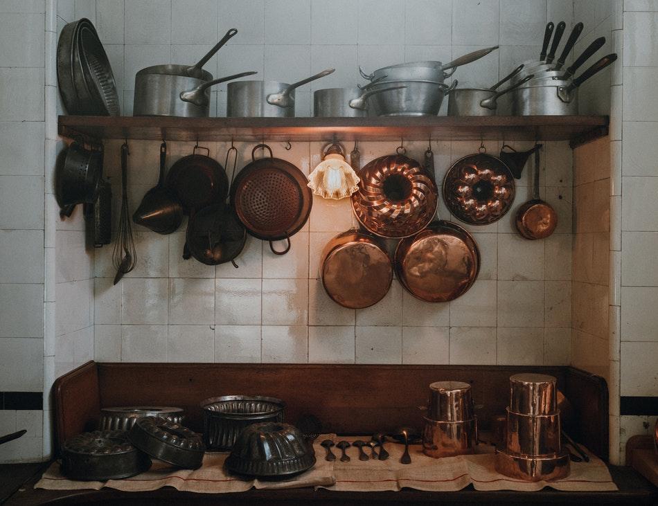 L'évolution de la cuisine à travers les âges